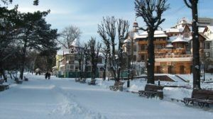 відпочинок в Трускавці зима 2020