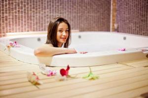 польза жемчужных ванн