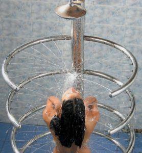 циркулярний душ показання